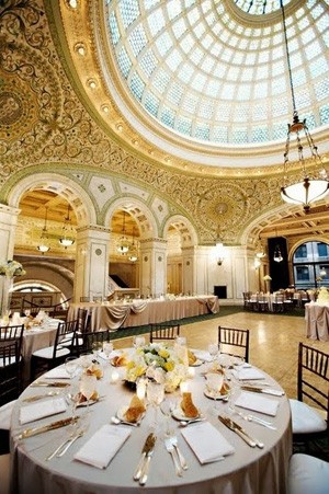 Wedding breakfast ballroom A luxe wedding