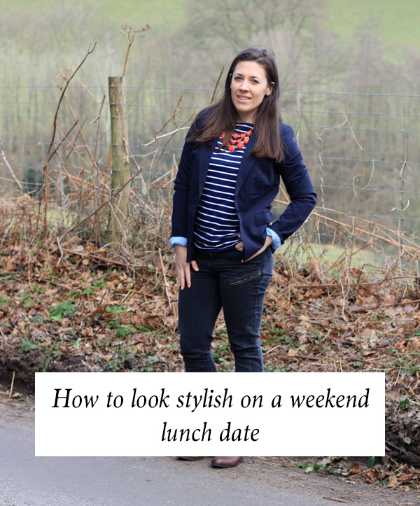 How to look stylish on a weekend lunch date