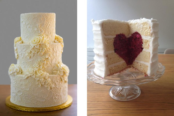 Buttercream wedding cake ideas