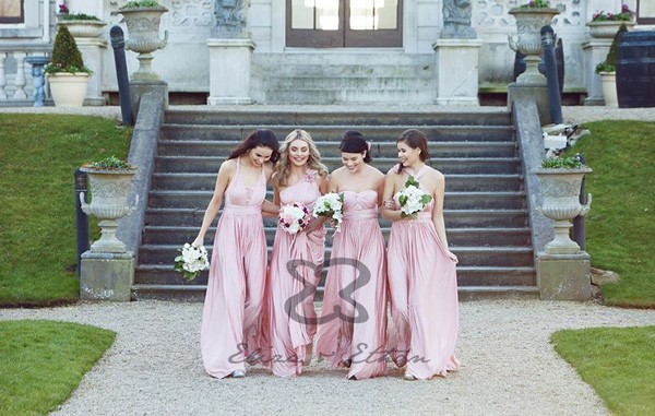 Convertible Wrap Bridesmaid Dress