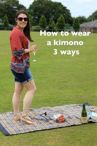 How to wear a kimono 3 ways