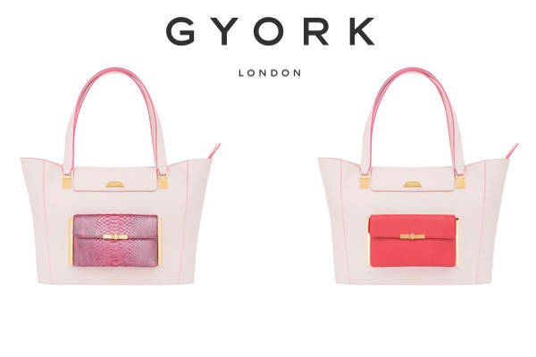 GYORK London chic yet functional handbag design