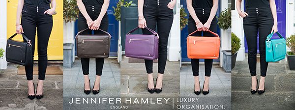 Jennifer Hamley England - stylish luxury bags for your life